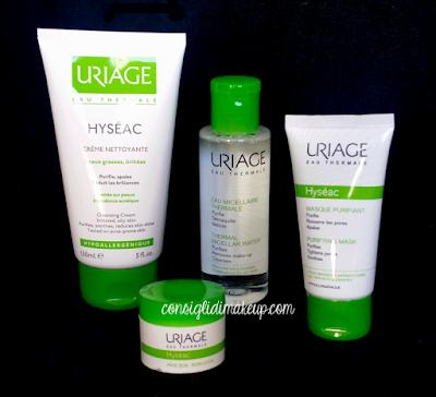 Review: Linea Hyseac per pelli grasse e acneiche - Uriage