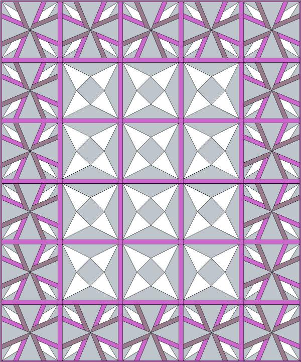 Refract Quilt Design | DevotedQuilter.blogspot.com