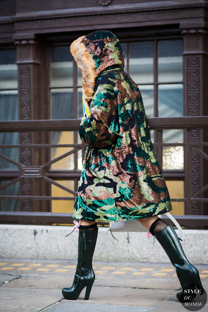 Estampado de camuflaje street style 2016