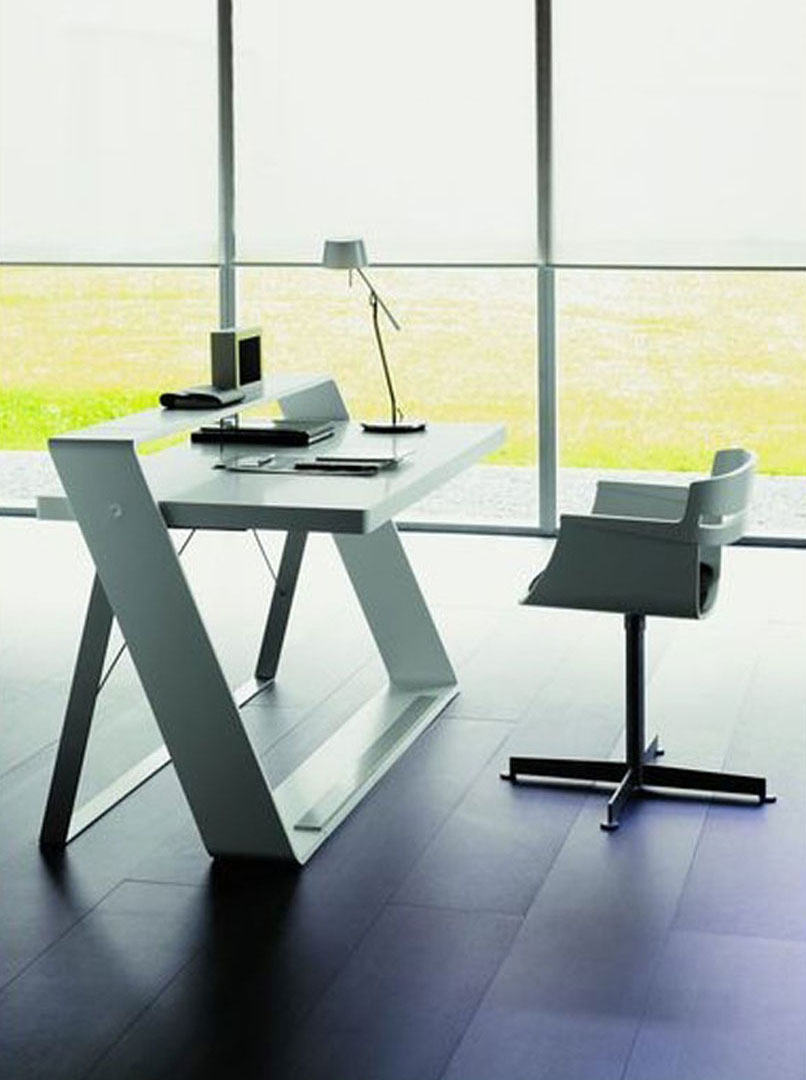 3 Simple White Home Office Furniture Ideas A Home Decors