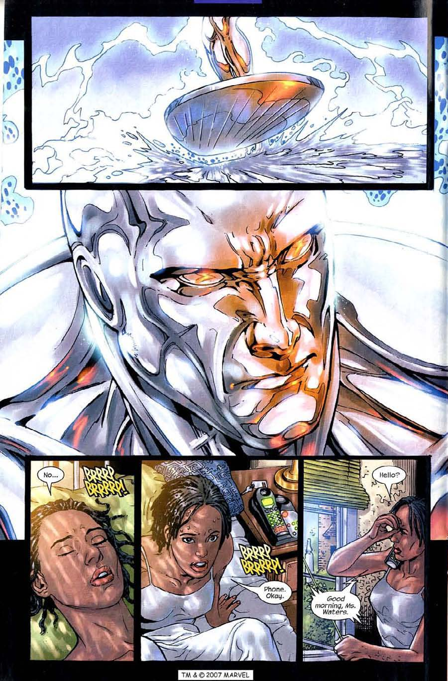 Read online Silver Surfer (2003) comic -  Issue #4 - 6