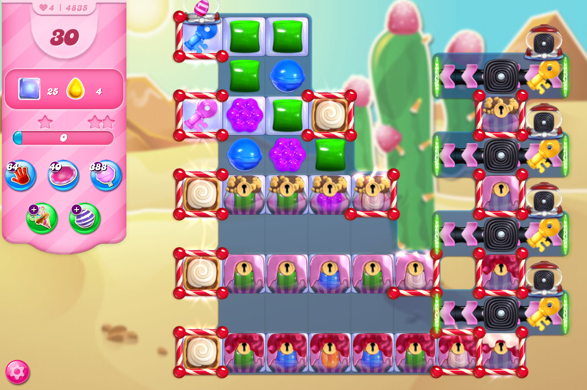 Candy Crush Saga level 4835