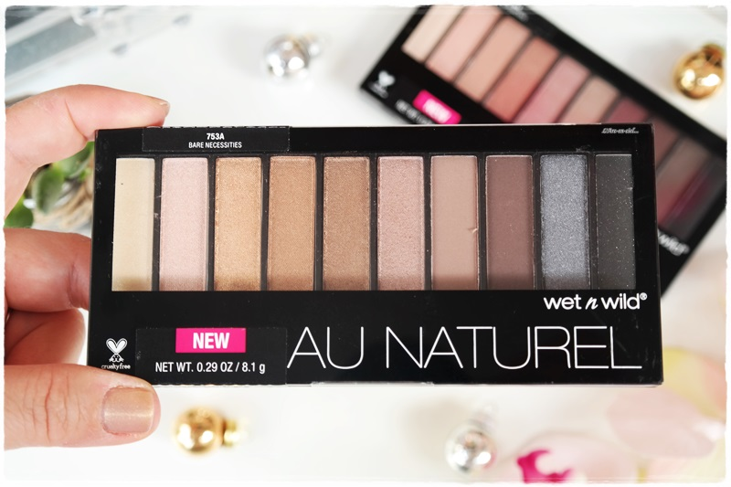 Wet n Wild Au Naturel far paleti inceleme