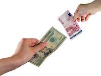 Kambiyo, dolar ve euro paralarının birbiriyle değiştirilmesi