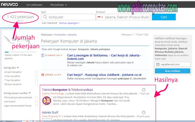 website pencari pekerjaan online
