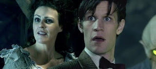 Dr Who, Suranne Jones and Matt Smith, the Doctor's Wife by Neil Gaiman