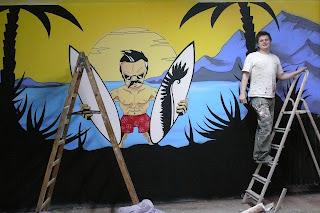 Artystyczne malowanie ścian, malowanie murali na zamówienie, warszawa