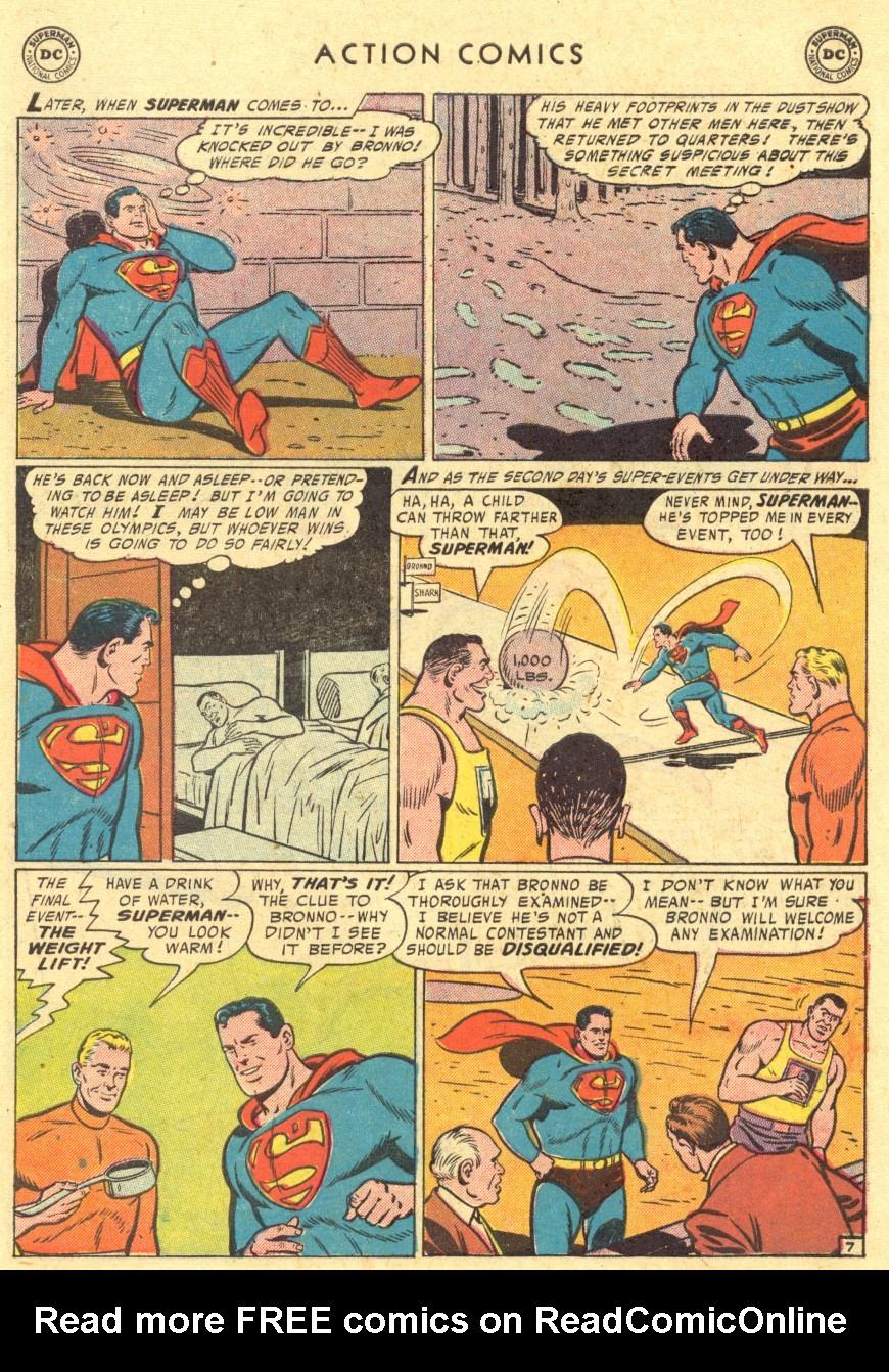 Action Comics (1938) 220 Page 8