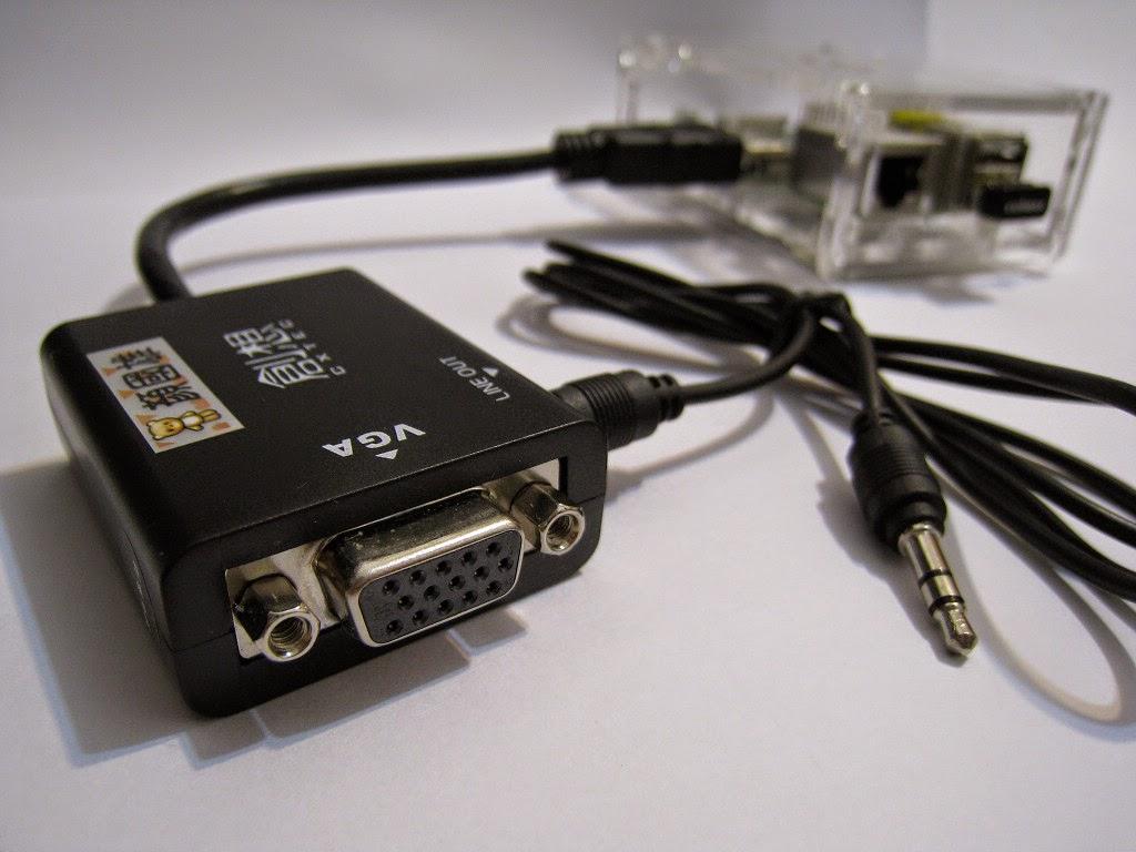 雄: RaspberryPI : 用 HDMI to VGA 接電腦螢幕
