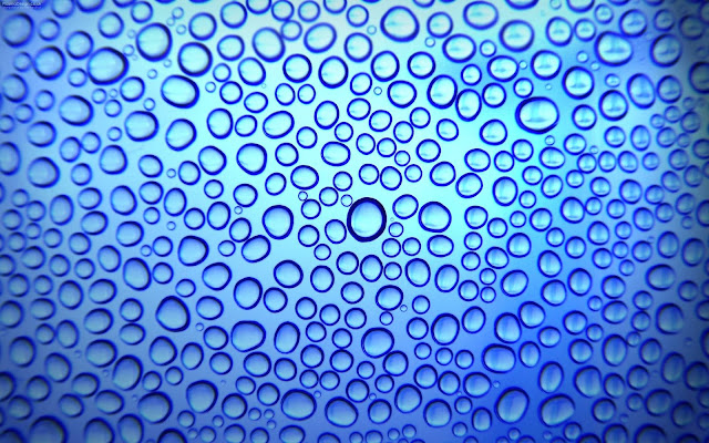 Water droplets background 3