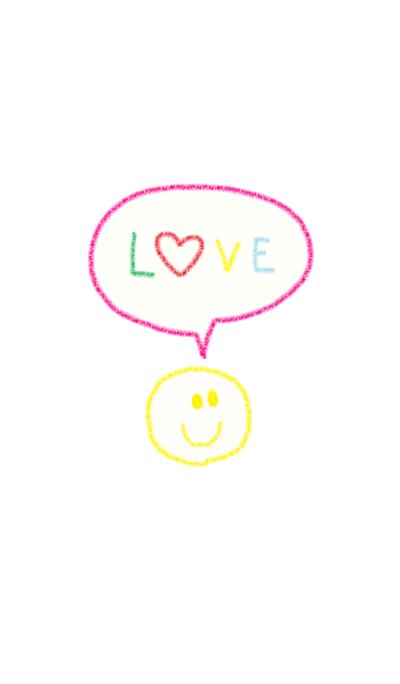 Crayon niko heart