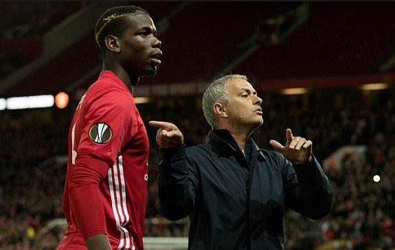 mourinho and paul pogba