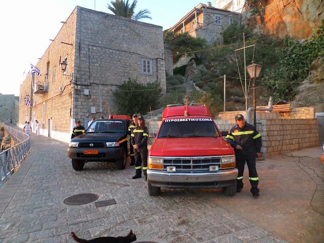 Εθελοντικό Πυροσβεστικό Κλιμάκιο Ύδρας: Η κακοκαιρία δεν έχει ολοκληρώσει τον κύκλο της