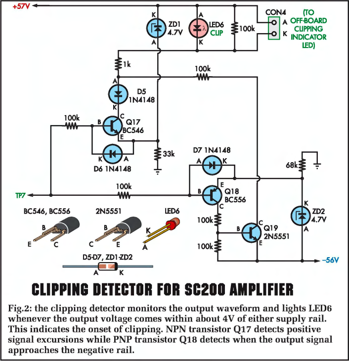 sc200 audio amplifier complete project, 200w audio amplifierdrop with increasing temperature at around 2mv °c so a fixed voltage source of 2 2v would lead to increased current as the output transistors heated up