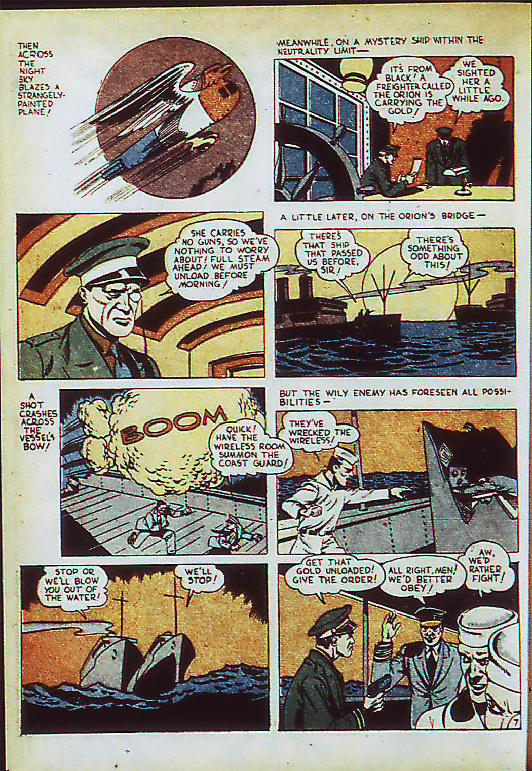 Read online Action Comics (1938) comic -  Issue #41 - 45