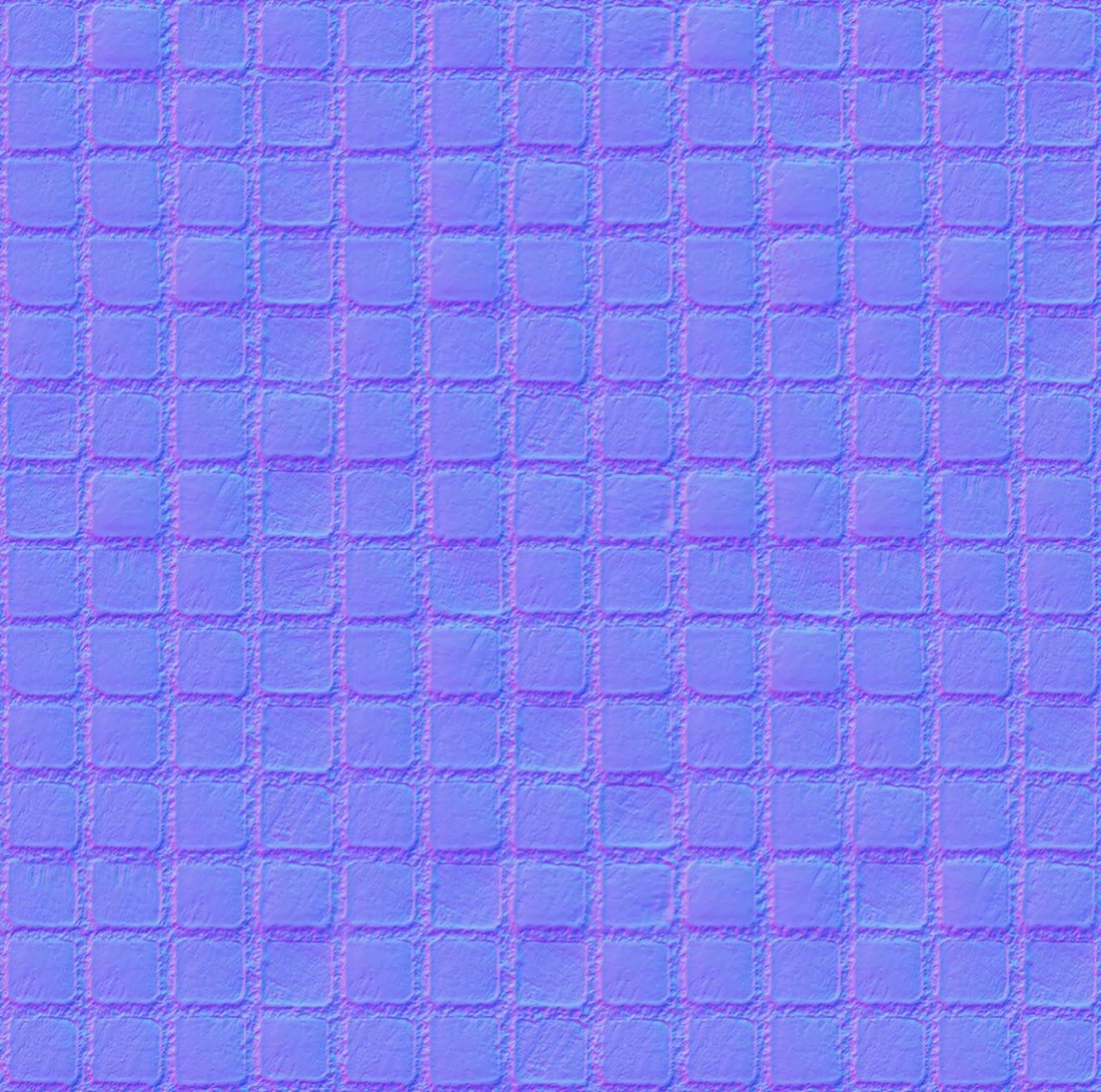 Laminate Planks >> Tileable Red Mosaic Texture + (Maps) | Texturise Free ...