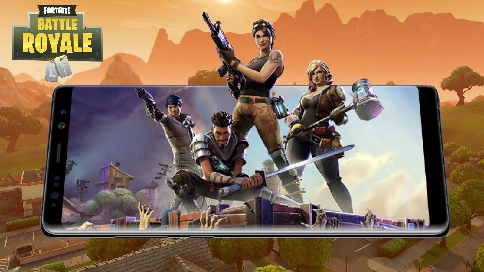 تنزيل لعبة Fortnite للايفون والاندرويد مجانا تنزيل لعبة فورت نايت للاندرويد و الايفون Mobdeon Net