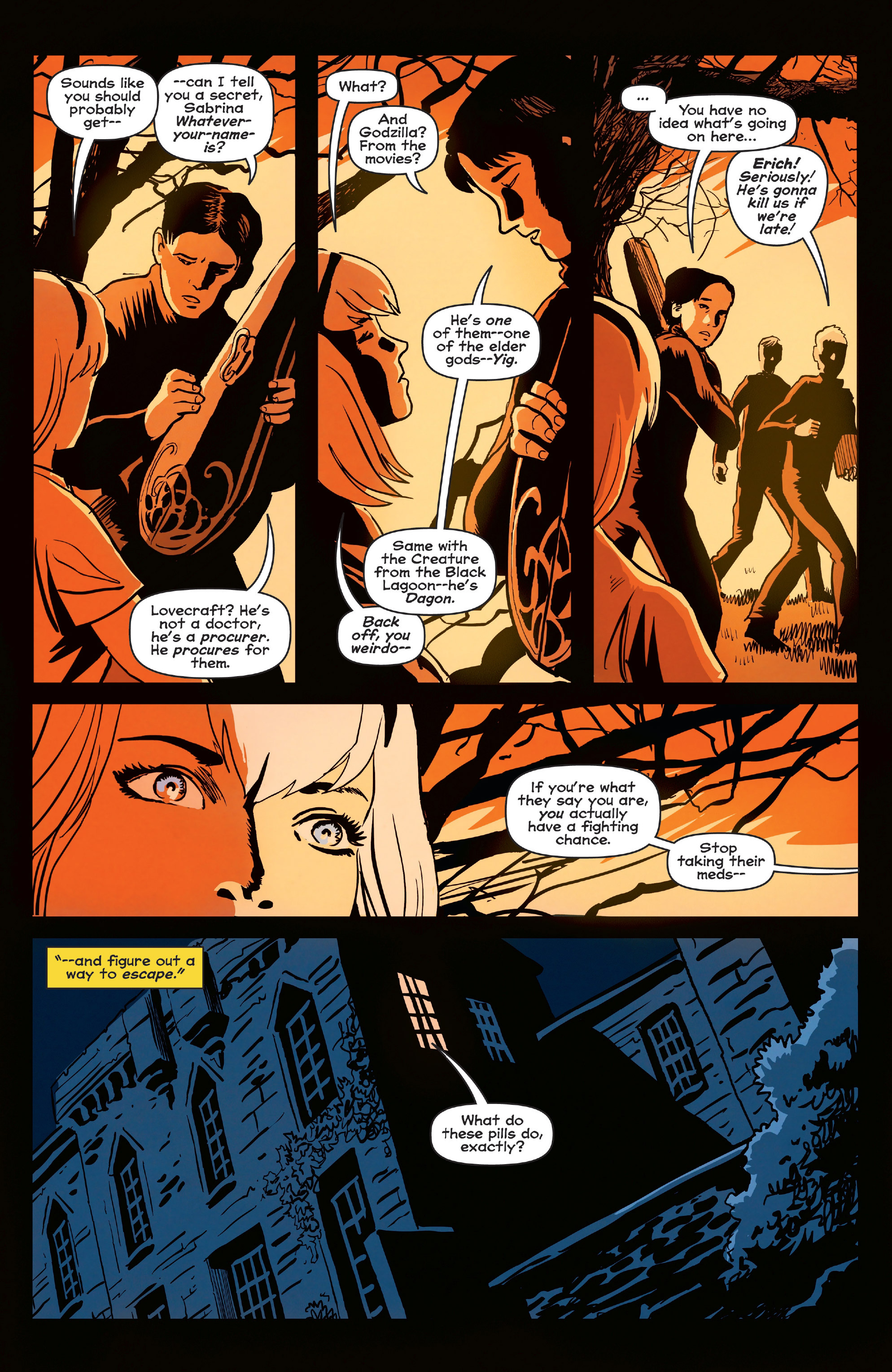 Read online Afterlife with Archie comic -  Issue #6 - 13