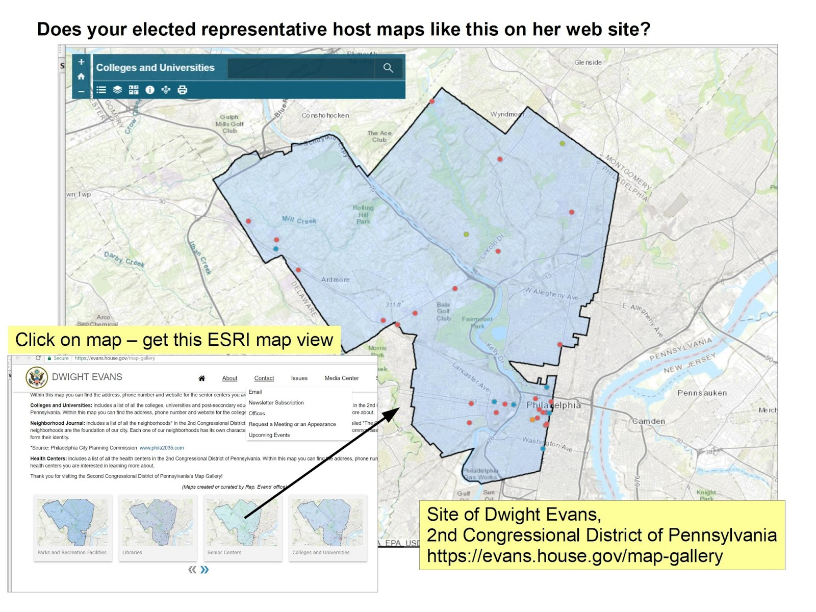 if you spend some time on this blog you can read articles posted since 2008 encouraging chicago and illinois politicians to use maps strategically to show