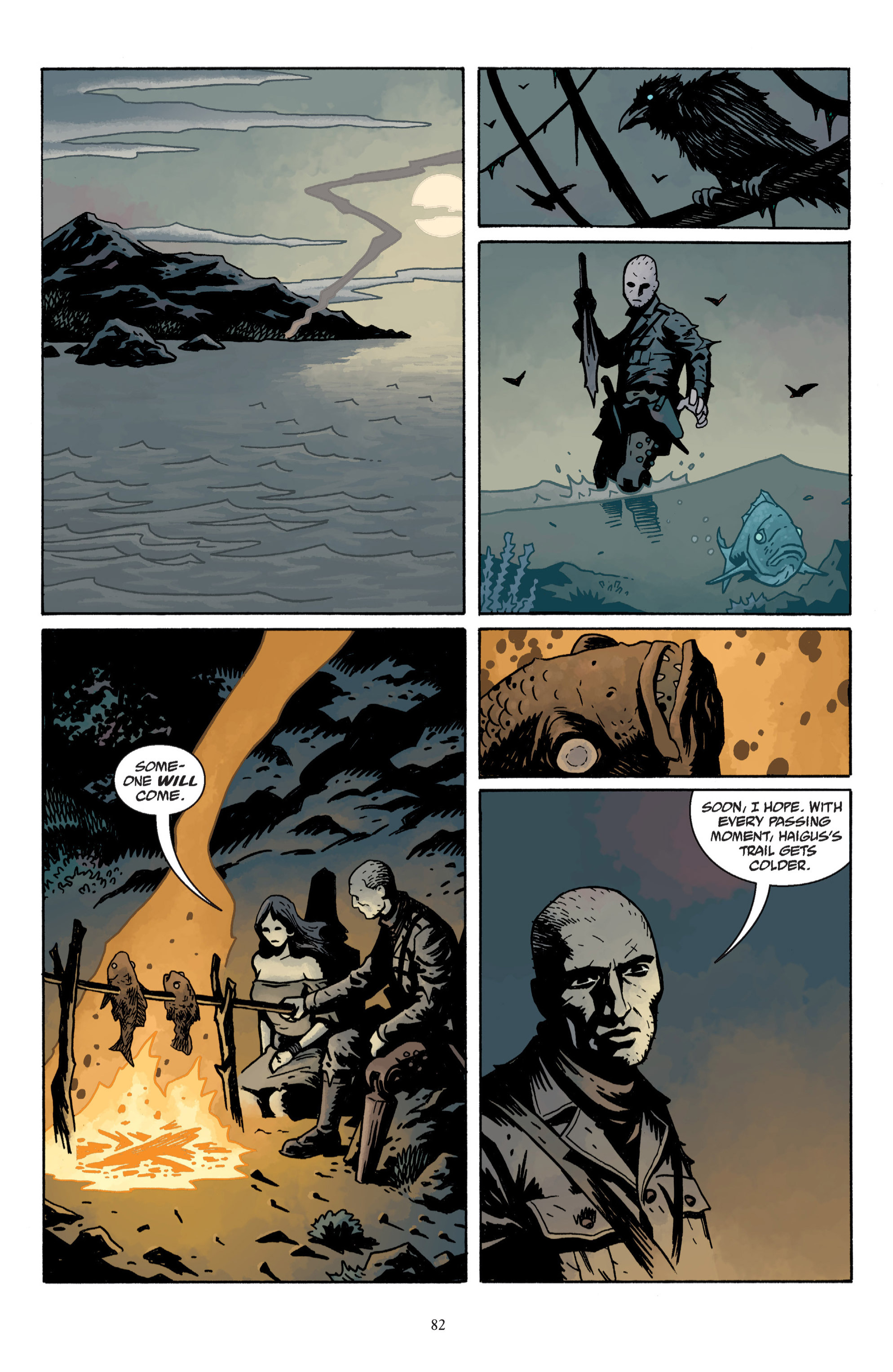 Read online Baltimore: The Plague Ships comic -  Issue # TPB - 84