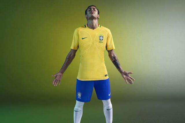 Brazil Nike 2018-19 Kits PES 2013