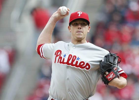 Philadelphia starter Jeremy Hellickson scratched from start
