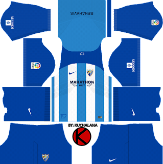 Malaga CF 2017/18 - Dream League Soccer Kits
