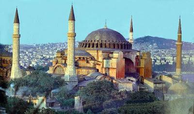 Inilah potret gambar Museum Hagia Sophia