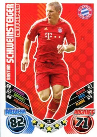 l2-Rob Friend-édition limitée Match Attax 11//12