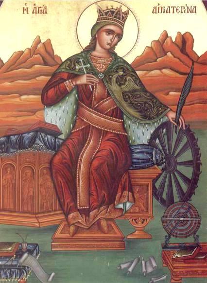 Η ΑΝΑΚΑΛΥΨΗ - Οταν Τον βρείς όλα αλλάζουν! Η Αγία Αικατερινη και η συνομιλία της με τους 50 ρήτορες