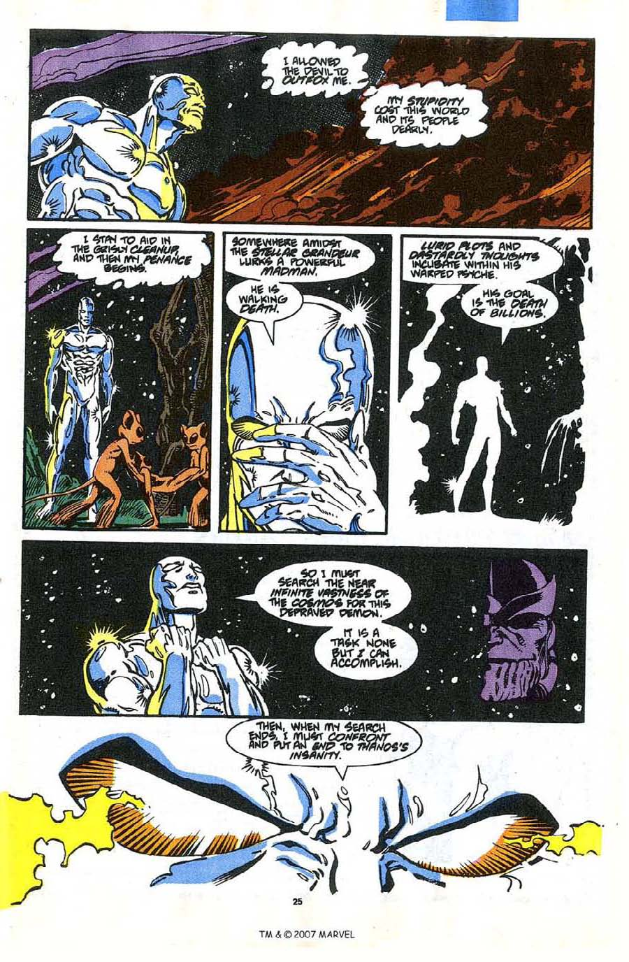 Read online Silver Surfer (1987) comic -  Issue #35 - 27