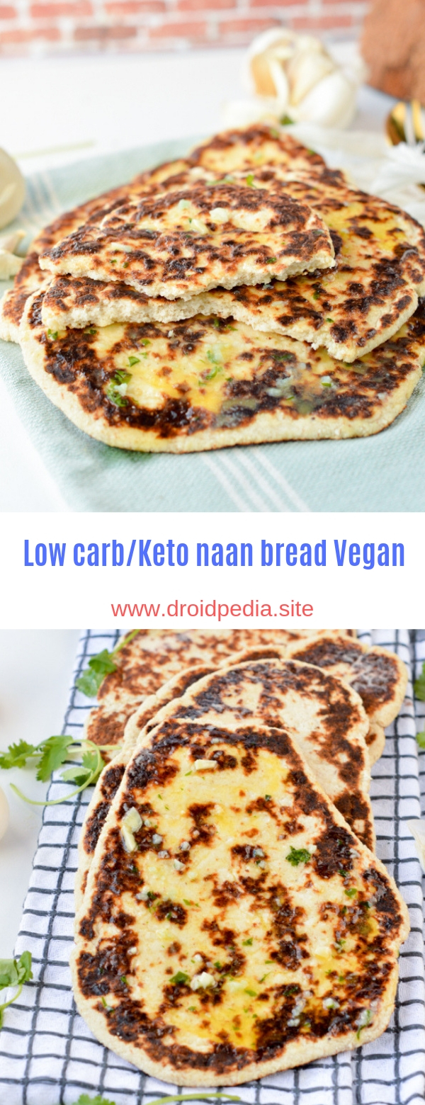 Low carb/Keto naan bread vegan