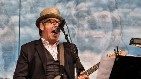 Elvis Costello en el Hardly Strictly Bluegrass