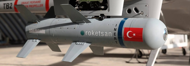 Поставка турецьких тренувальних бомб у жовтні 2019-го