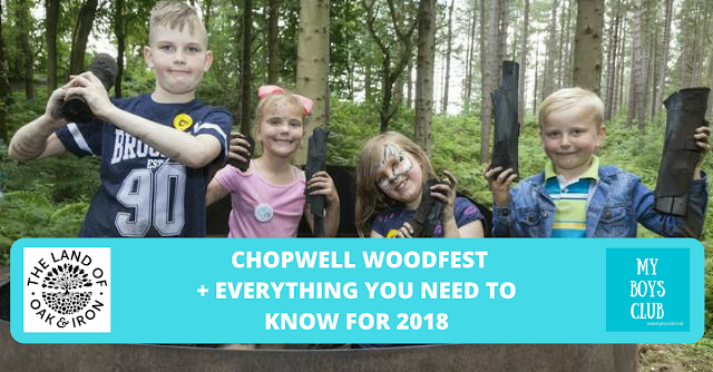 Chopwell WoodFest returns in the Land of Oak & Iron