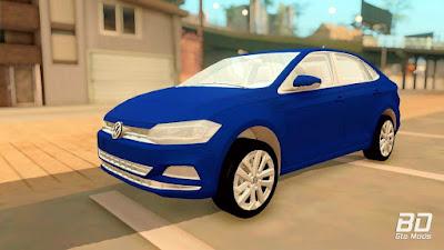 Download do mod VW VIRTUS HIGHLINE 2018 para o jogo GTA San Andreas PC. Baixe esse mod gratis para o jogo GTA SA !