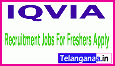IQVIA Recruitment Jobs For Freshers Apply