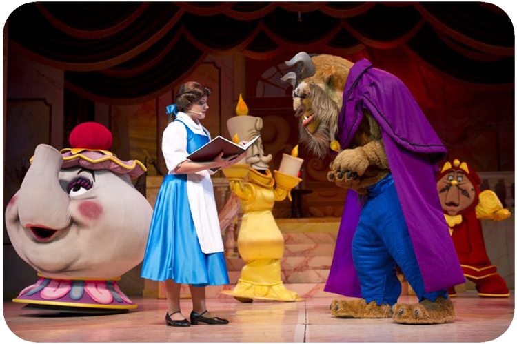 Hollywood Studios Broadway Beauty and the Beast Show