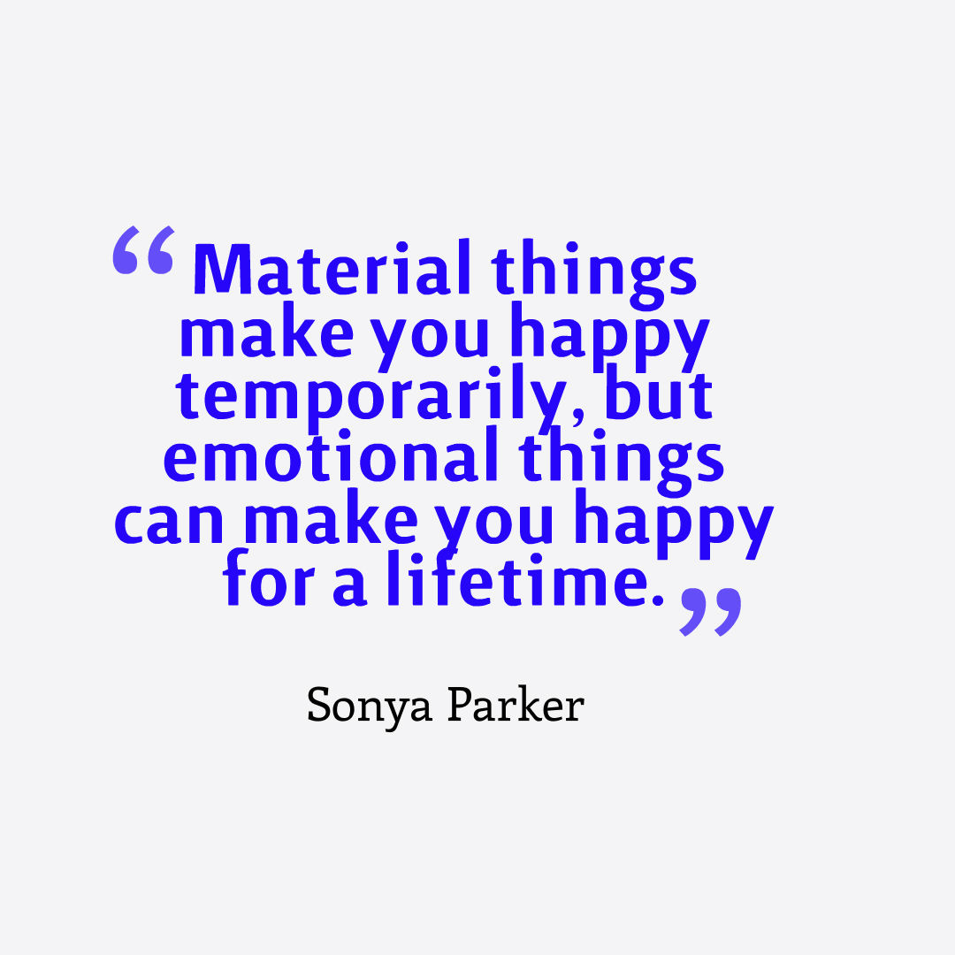 Happiness Quote Author Sonya Parker Quotes