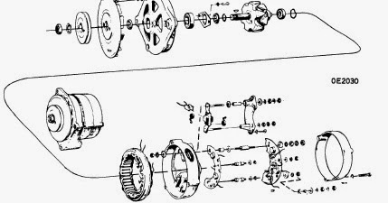 repair-manuals: Bosch Alternators 1974