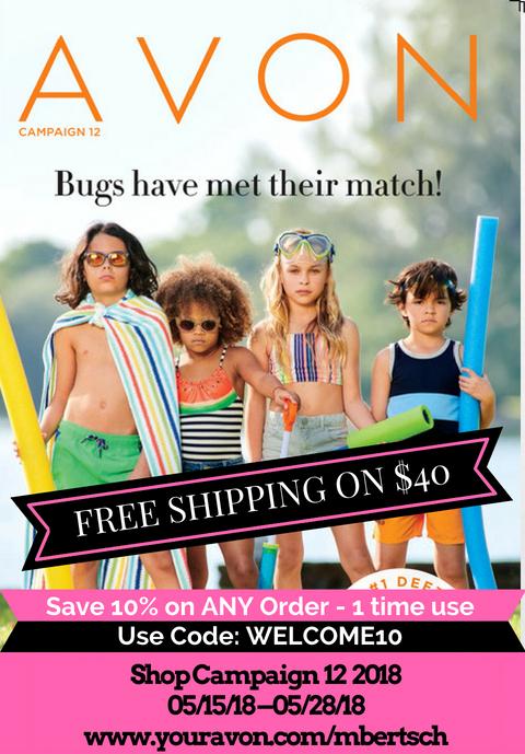 Avon Campaign 12 2018 Brochure - Current Catalog Online - Avon Representative, Mary Bertsch eStore is open 24/7