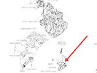 Harga Dan Fisik Engine Mounting Kiri Toyota Agya Matic