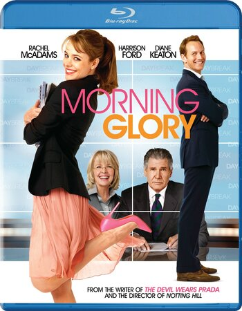 Morning Glory (2010) Dual Audio Hindi 480p BluRay 350MB ESubs Movie Download