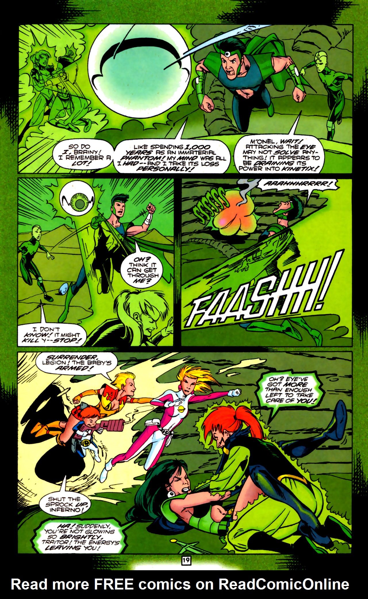 Legion of Super-Heroes (1989) 84 Page 17