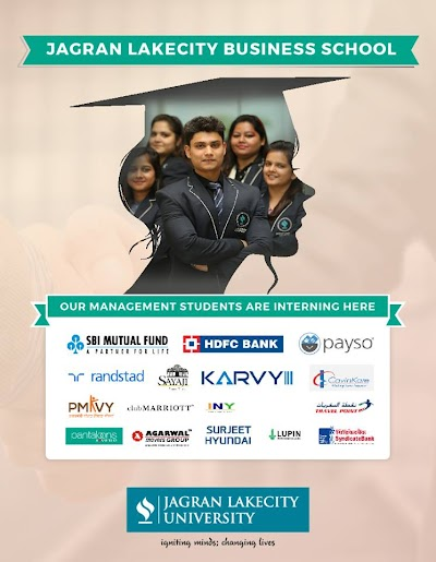 The Launchpad: Internship opportunities for students at Jagran Lakecity University