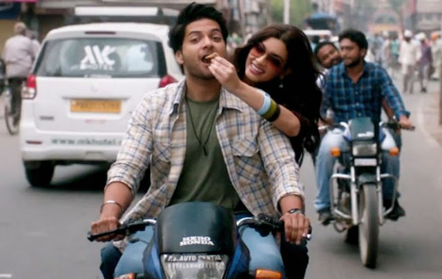 Ali Fazal and Diana Penty in Happy Bhag Jayegi