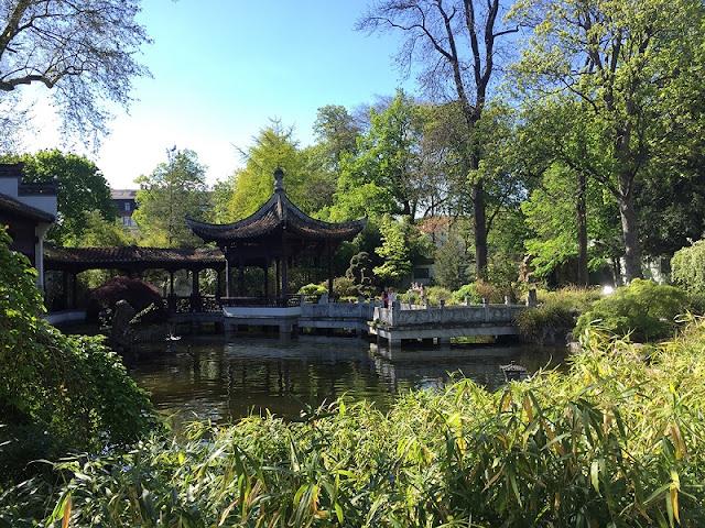Bethmannpark em Frankfurt