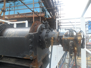 Drum and Hydraulic Motor for Drum