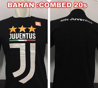 Kaos Juventus Lambang Baru