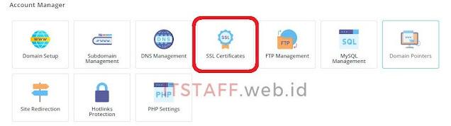 SSL Certificate Let's Encrypt DirecAdmin - ITSTAFF.web.id
